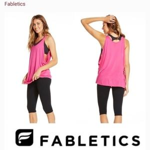 NWT Fabletics Barbados workout tank top size large